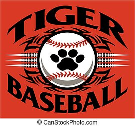 basebol, tiger