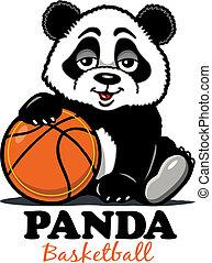 basquetebol, panda