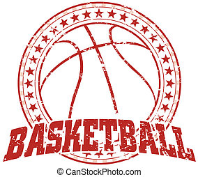 basquetebol, vindima, -, desenho