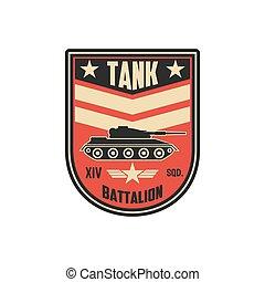 batalhão, caminhão, divisão, tanque, armado, militar, esquadra