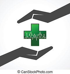 batida coração, salvar, família, med
