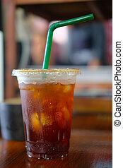bebida fermentada, gelado, café