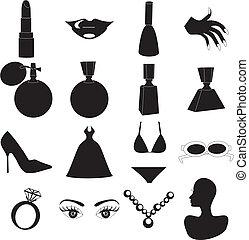 beleza, ícones