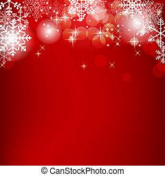 beleza, abstratos, ilustração, experiência., vetorial, ano, novo, natal