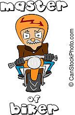 biker, mestre