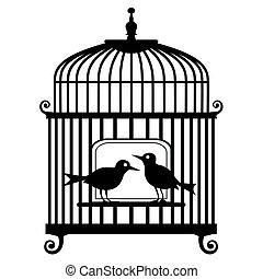 birdcage, vetorial