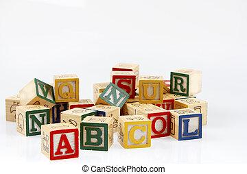 blocos, aprendizagem