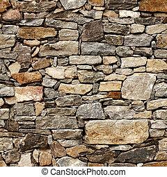 blocos pedra, medieval, parede, seamless, textura