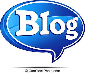 blog, borbulho fala