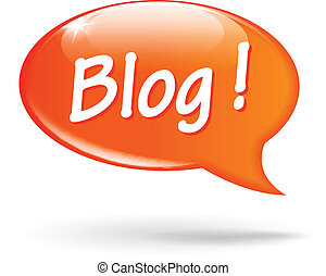blog, fala, vetorial, bolha