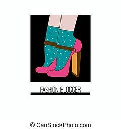 blogger, moda, ícone