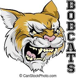 bobcats, mascote