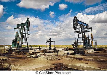 bomba, óleo, macaco