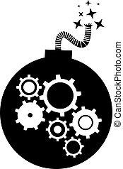 bomba, mecânico