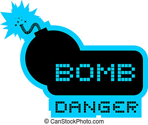 bomba, perigo