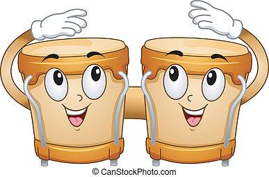 bongo, mascote