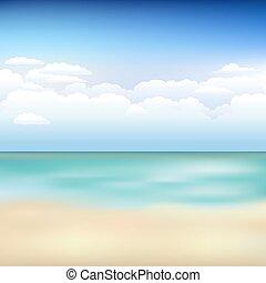 bonito, praia, paisagem