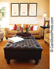 bonito, sala de estar