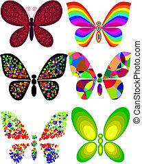 borboleta, artisticos