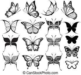 borboleta, clipart
