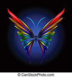 borboleta, simplesmente