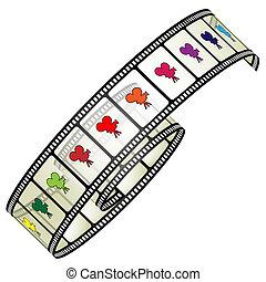 bordas, película