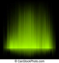 borealis, aurora, experiência., eps, 8