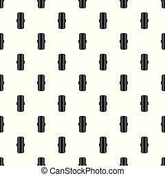 borracha, padrão, vetorial, seamless, pneumático