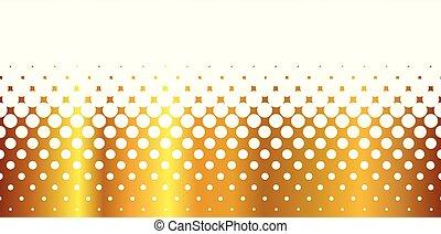 branca, buracos, ouro