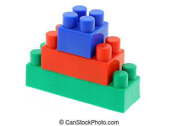 bu, torre, coloridos
