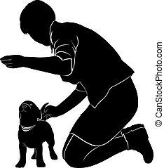 cão, mostrar
