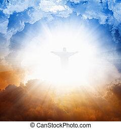 céu, christ, jesus