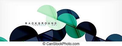 círculo, fundo, abstratos, ilustração, geomã©´ricas