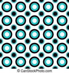 círculo, fundo, desenho, abstratos, padrão, repetindo
