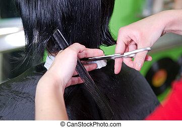 cabelo cortante