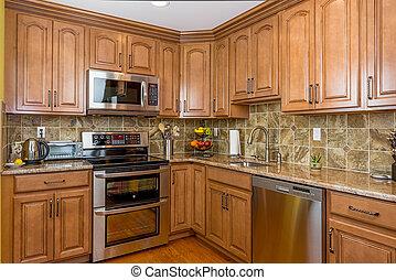cabinetry, cozinha, madeira
