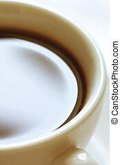 café, close-up, copo