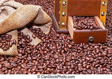café, configurar