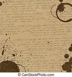 café, eps10, vindima, abstratos, fundo, vetorial