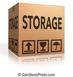 caixa, armazenamento