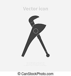 calibrador, ícone