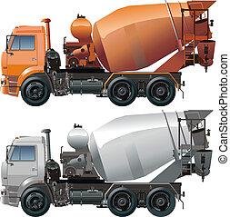caminhão, cimento