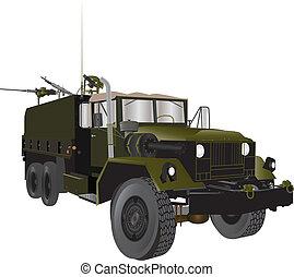 caminhão, exército