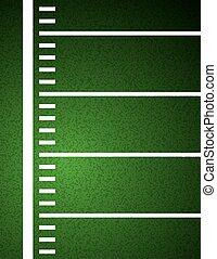 campo, futebol americano, fundo, ilustração