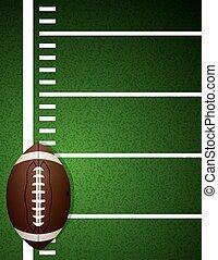 campo, futebol americano, fundo