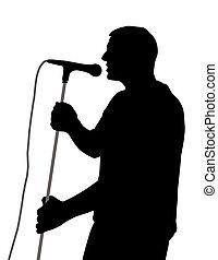 cantor, macho