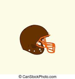 capacete, futebol, americano