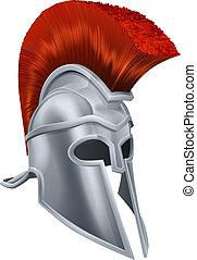 capacete, trojan