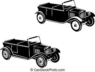 car, 1920-1930, retro, ano