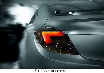 car, luzes